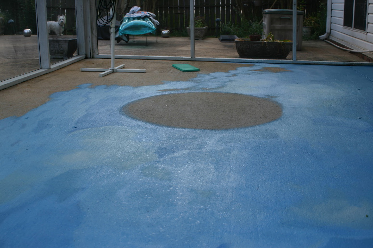 Painting Cement Porch Floor