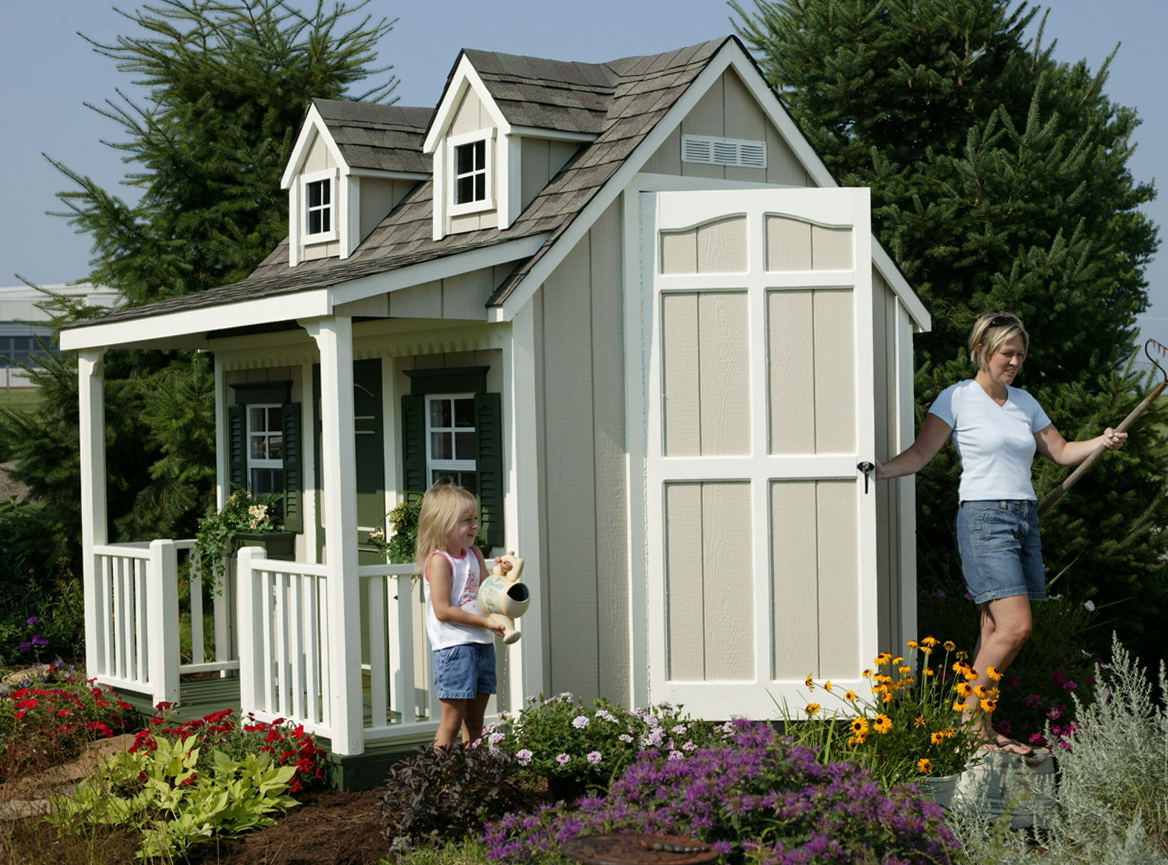 Playhouse With Porch Plans
