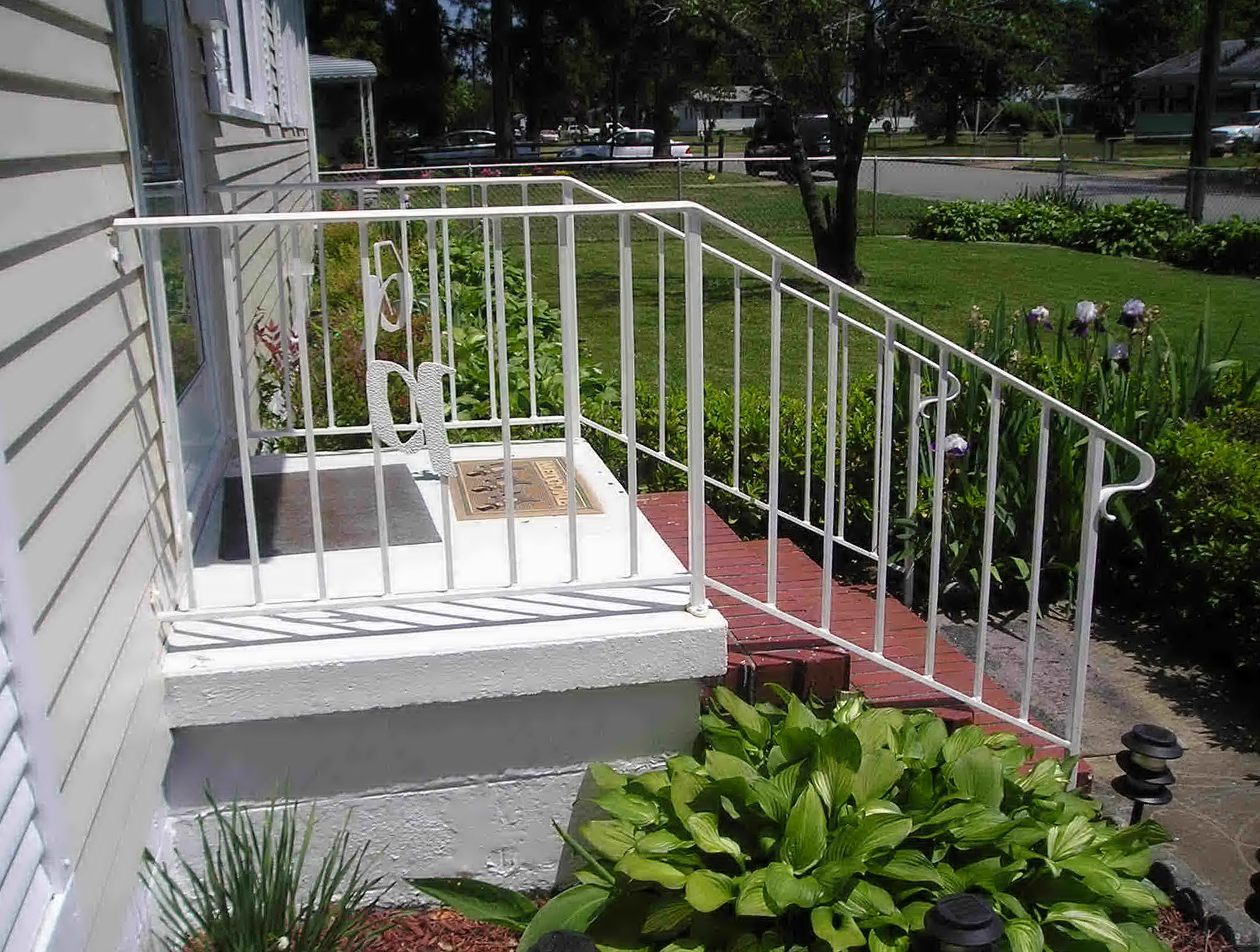 Porch Handrails For Steps