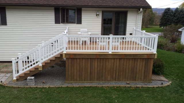 Porch Railing Installation Cost Home Design Ideas