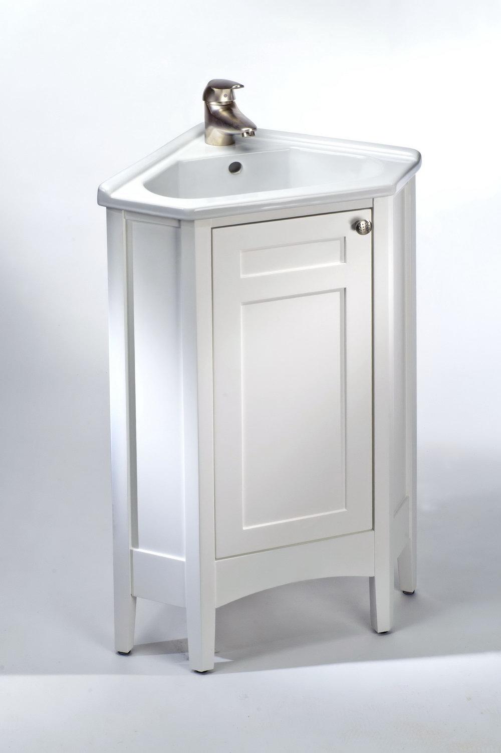 Small Bathroom Corner Vanity