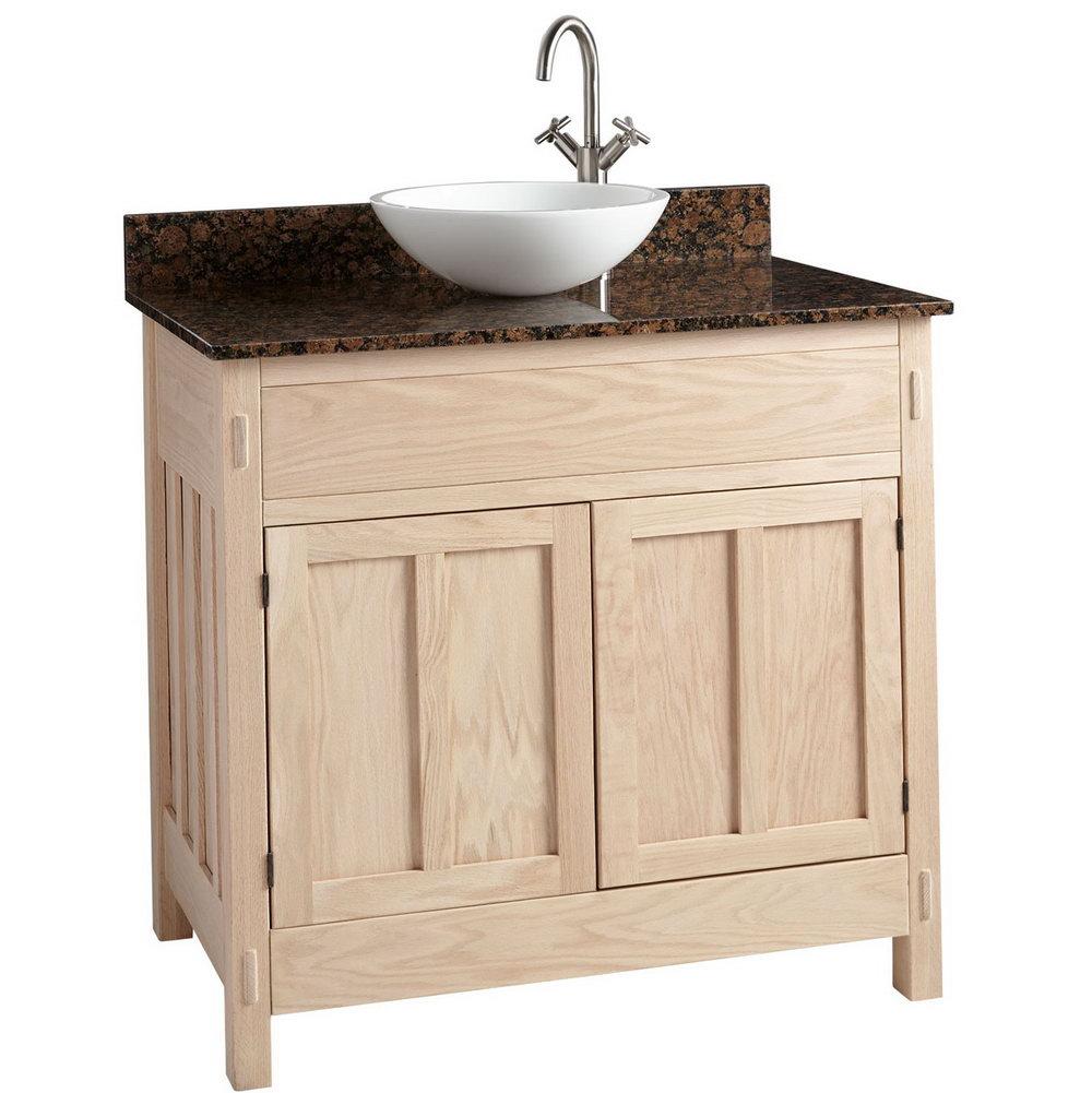 Unfinished Vanity Cabinets Bathroom