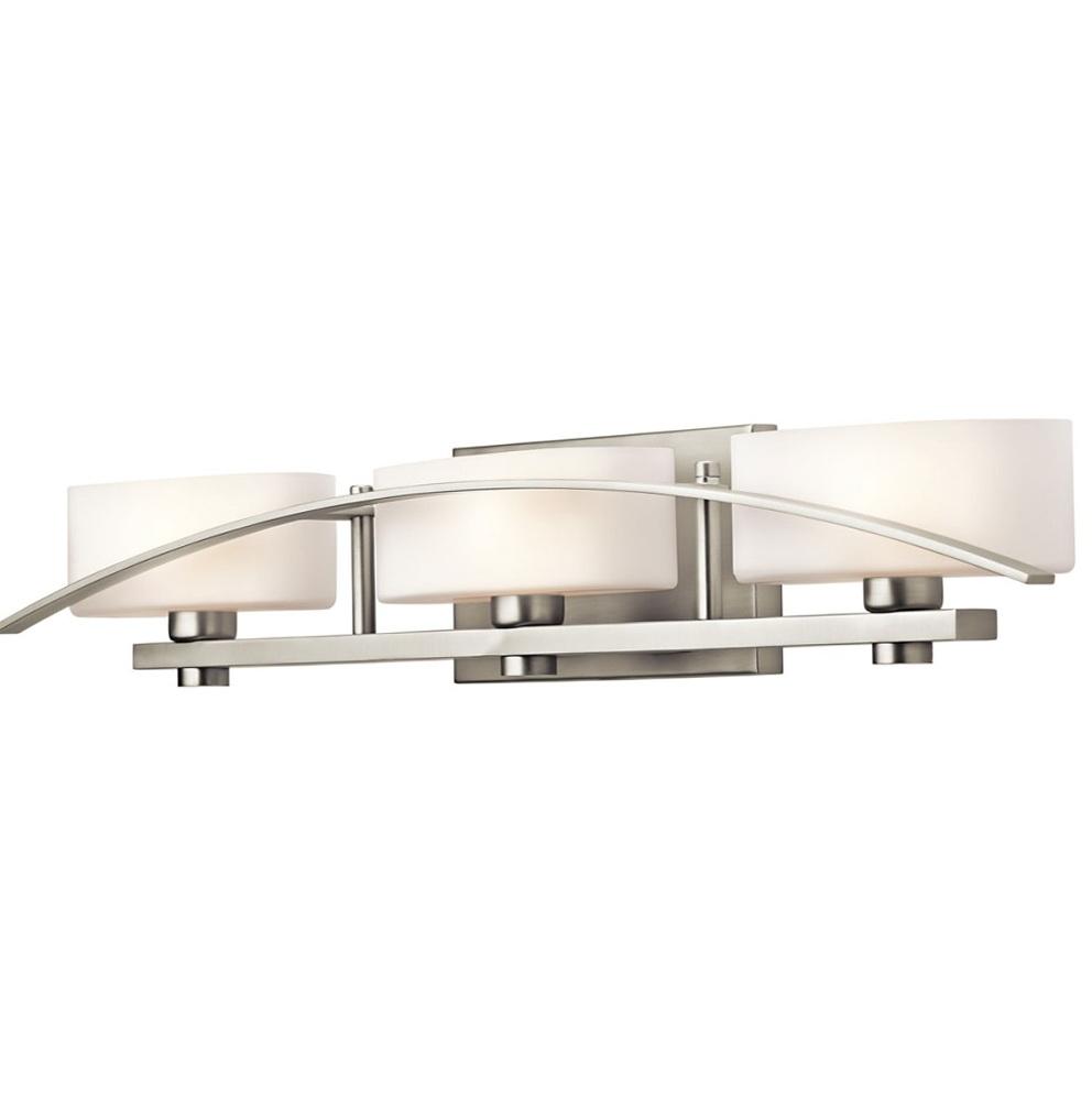 Vanity Lighting Fixtures Brushed Nickel