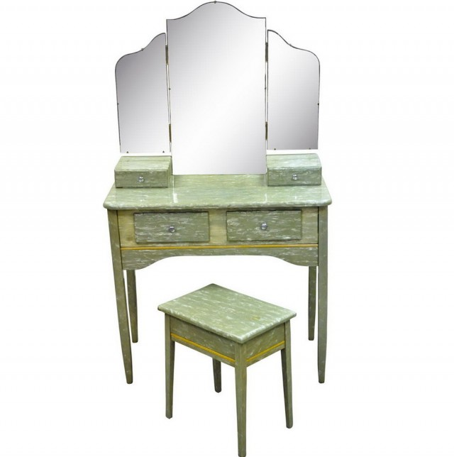 Vanity Set With Stool Ikea