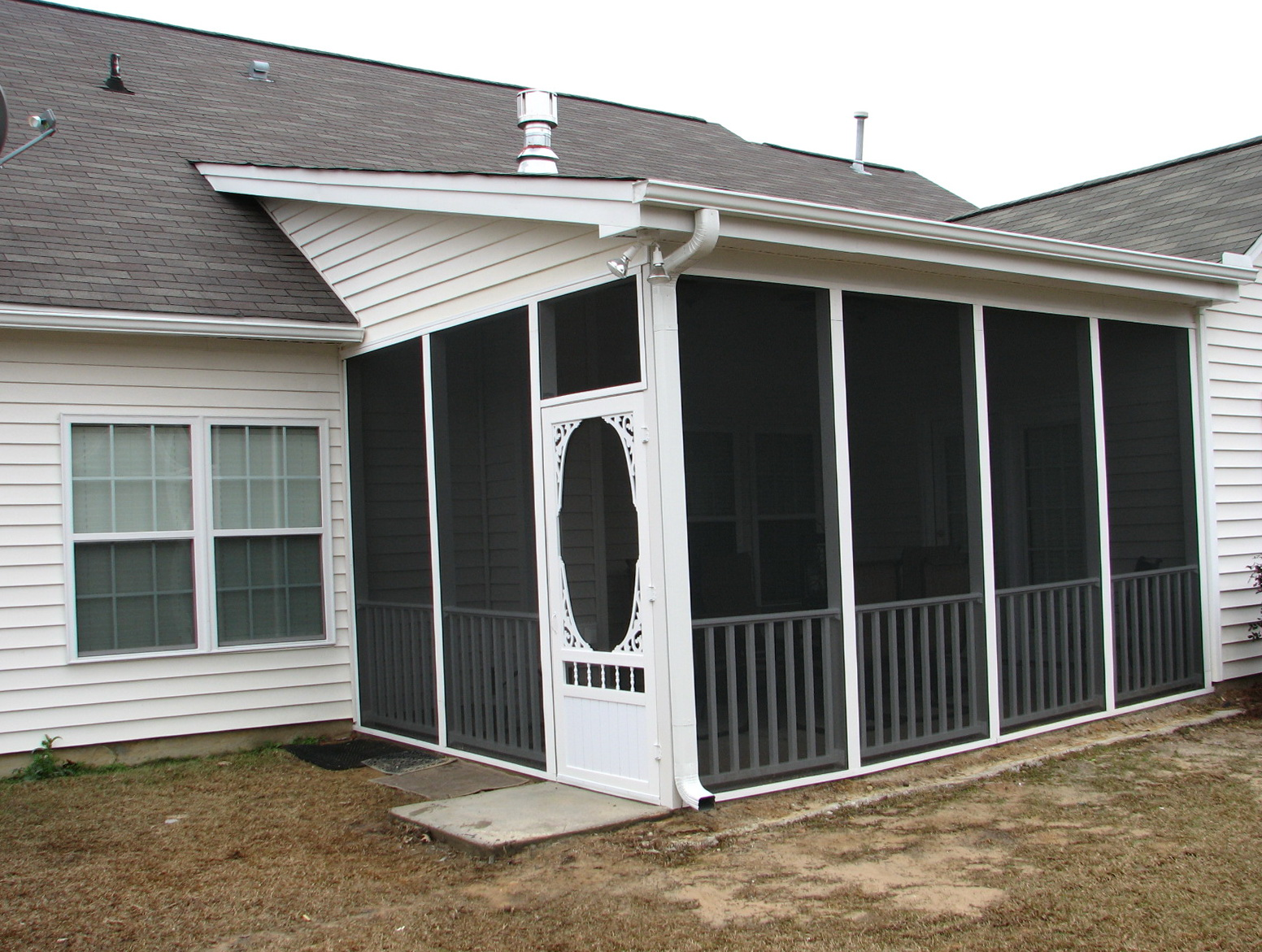 Vinyl Screen Porch Panels
