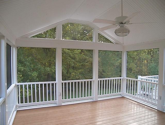 Vinyl Screen Porch Systems