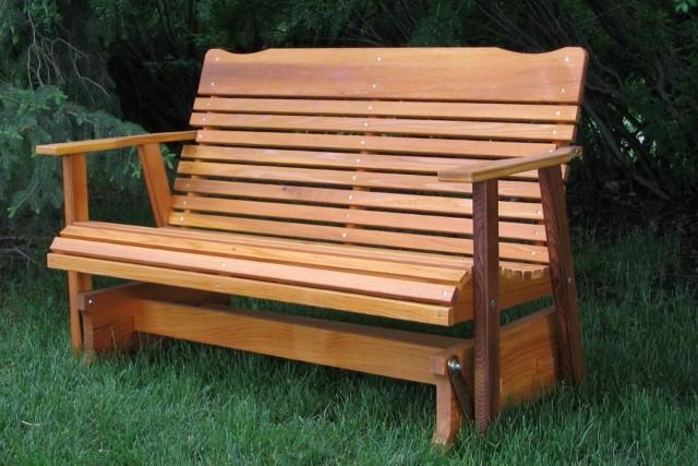 Wood Porch Glider Plans