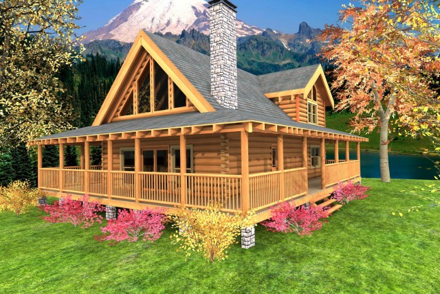 Modular homes with front porches home design ideas for House plans with porches all the way around