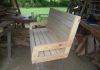2×4 Porch Swing Plans