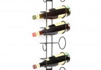 6 Bottle Wine Rack Wall Mount