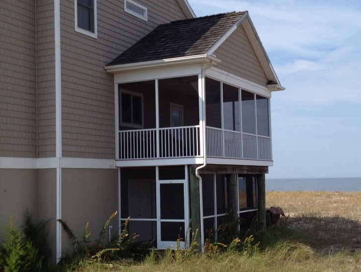 Permalink to Aluminum Screened Porch Panels