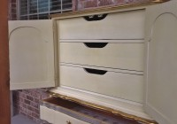 Antique White Dresser Canada