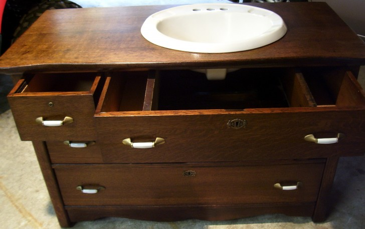 Permalink to Bathroom Vanities Made From Antique Dressers