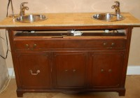 Bathroom Vanities Made From Old Dressers