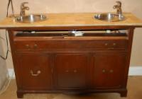 Bathroom Vanities Made From Old Dressers