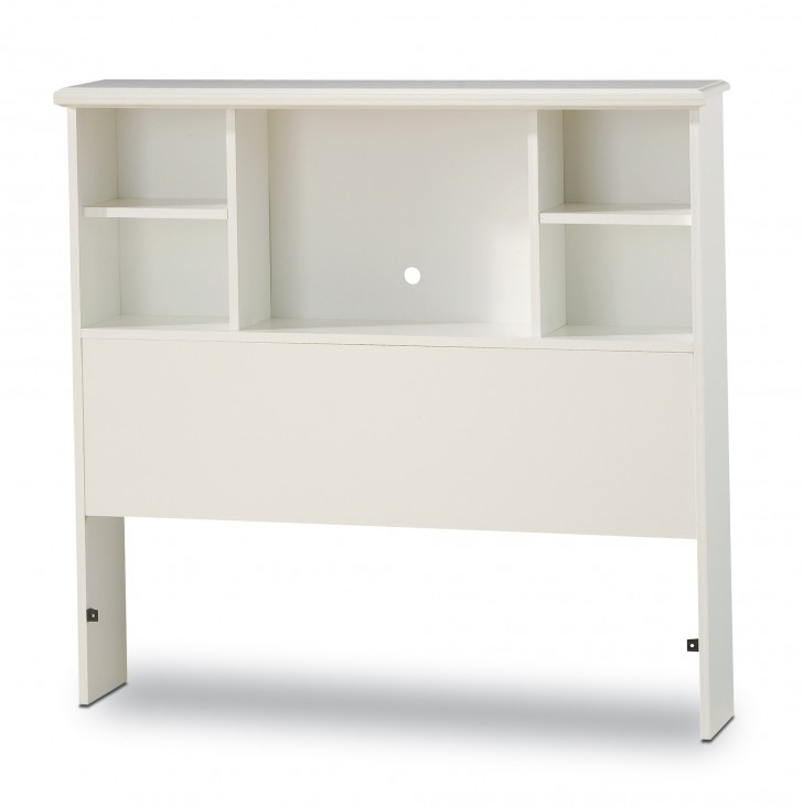Permalink to Bookcase Headboard Twin White