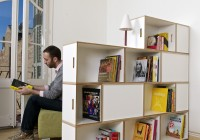 Bookshelf Room Divider Apartment Therapy