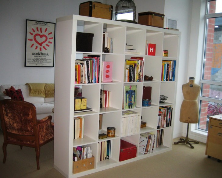Permalink to Bookshelf Room Divider Ideas