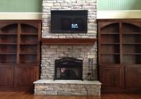 Bookshelves Around Fireplace Pinterest