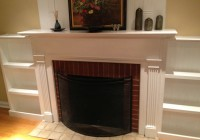 Built In Bookshelves Around Fireplace Plans
