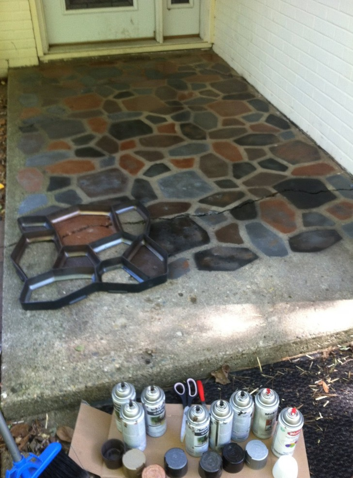 Permalink to Cement Porch Paint Ideas
