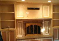 Fireplace Mantels With Bookshelves On The Side