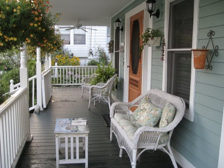 Permalink to Front Porch Decorations Ideas