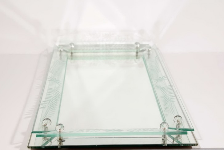 Permalink to Glass Vanity Tray Dresser