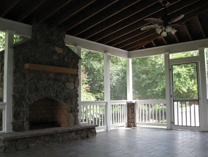 Permalink to Images Of Screened Porches With Fireplaces