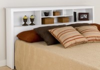 King Size Bed With Bookcase Headboard