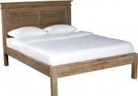 Low Headboard Queen Bed