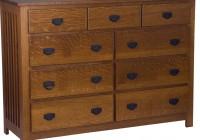 Mission Style Dresser Furniture