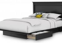Queen Bed Headboard Storage