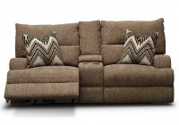 Reclining Sofa And Loveseat With Console