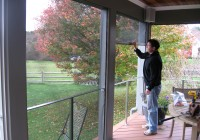 Roll Up Screen Porch Systems