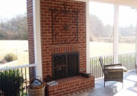 Screened Porch With Fireplace Cost