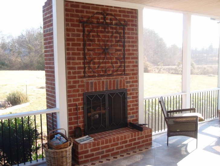 Permalink to Screened Porch With Fireplace Cost