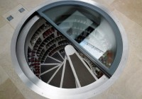 Spiral Wine Cellar In Floor