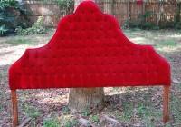 Velvet Headboard King Size