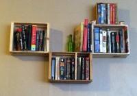 Wall Mounted Bookshelves Diy