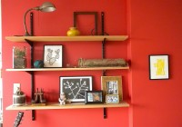 Wall Mounted Bookshelves Home Depot