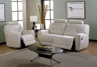 White Reclining Sofa And Loveseat