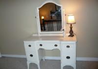 White Vanity Dresser With Mirror