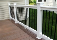 White Vinyl Porch Railing Kits