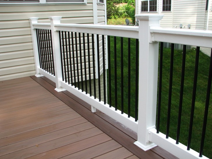 Permalink to White Vinyl Porch Railing Kits