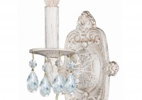 White Wall Sconce Light
