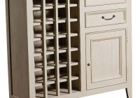 White Wine Rack Cabinet