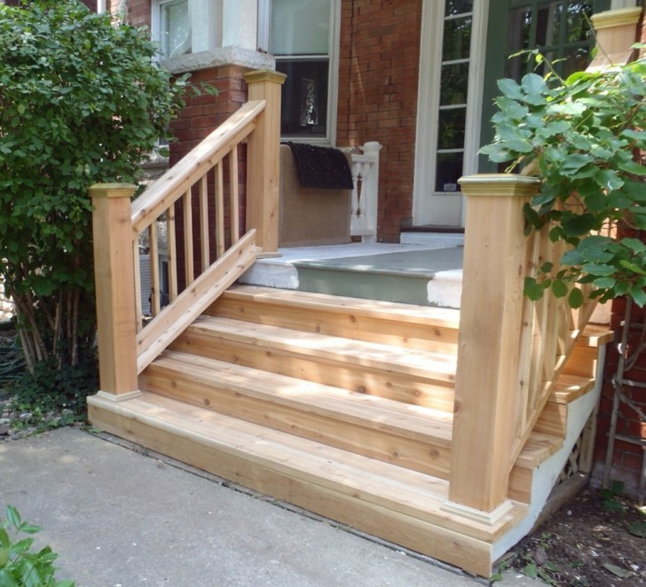 Permalink to Wood Porch With Stone Steps