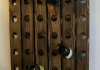 Wood Wine Rack For Wall