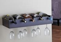 Wooden Wine Rack Shelf